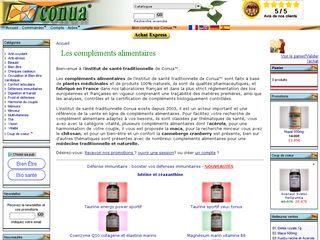 Compléments alimentaires la santé au naturel Conua