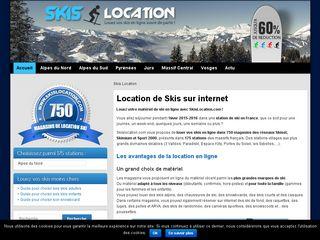 Louez vos skis sur skislocation.com avant de partir en vacances