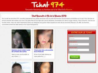Tchat974, tchat et rencontres à la Réunion