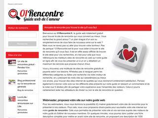 01Rencontre, le guide de la rencontre en ligne