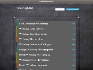 Un wedding planner qui devient invité