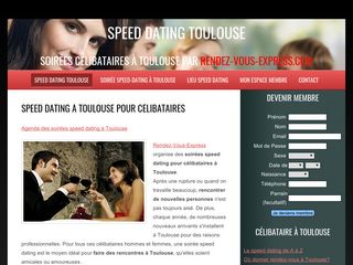 Le site pour vos speed dating à Toulouse