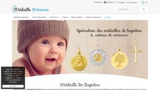 Médaille Précieuse, pour naissance et baptême