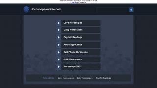 Votre horoscope mobile gratuit