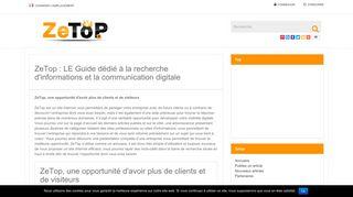Annuaire des pages web françaises de qualité