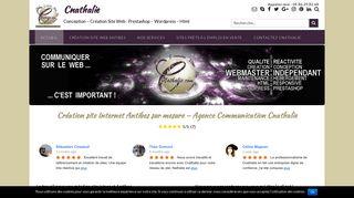 Cnathalie.com développeur de site internet