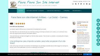 Faire faire son site internet – Achat site web existant